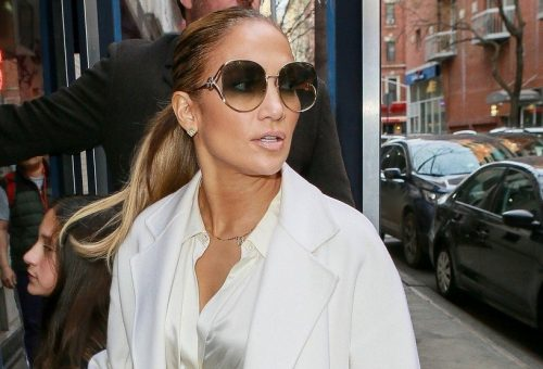Döbbenetesen néz ki Jennifer Lopez új filmje forgatásán