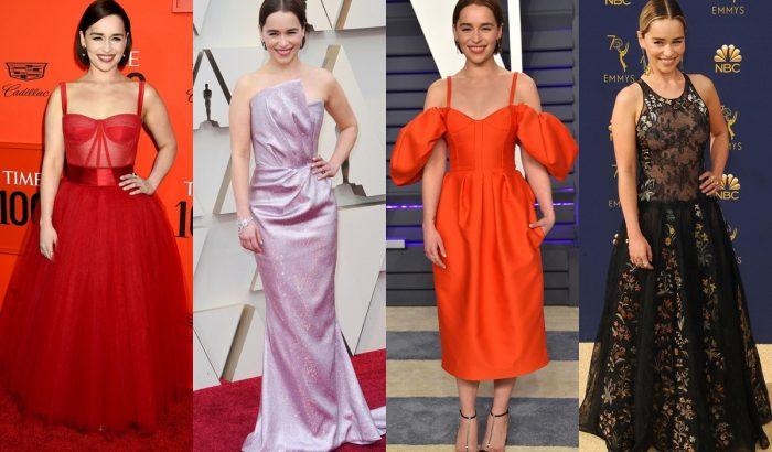 Emilia Clarke legjobb vörösszőnyeges megjelenései