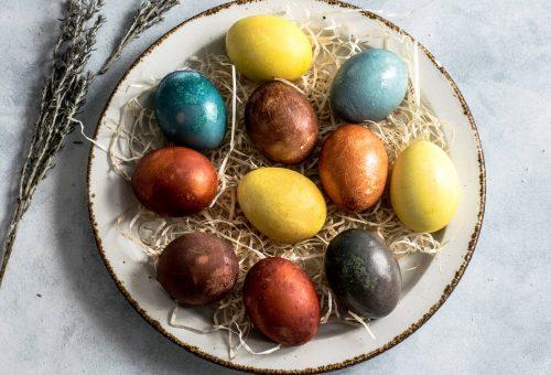 10 virágos húsvéti asztaldísz