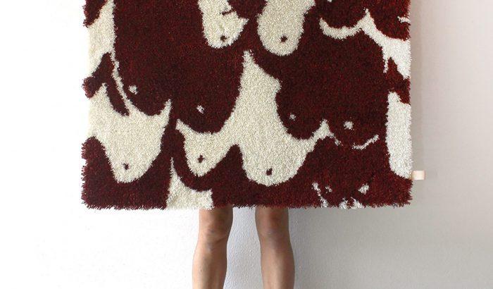 Mellbimbós designer szőnyeg Butler Lindgårdtól