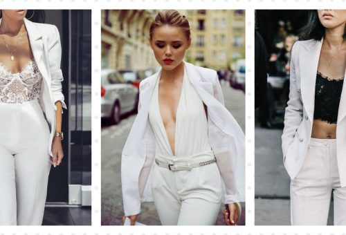 Menő nadrágkosztümök bevállalós menyasszonyoknak