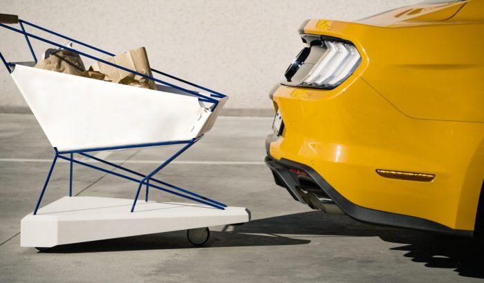 Önfékező designer bevásárlókocsit tervezett a Ford