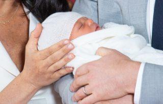 Az első képek Meghan és Harry kisbabájáról