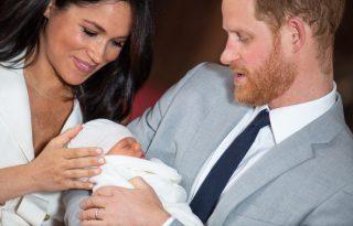 Megkeresztelték a legkisebb királyi herceget