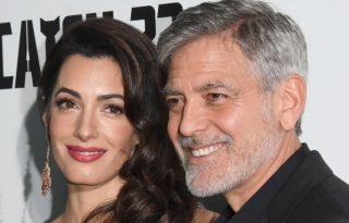 Amal Clooney pere miatt van veszélyben a család