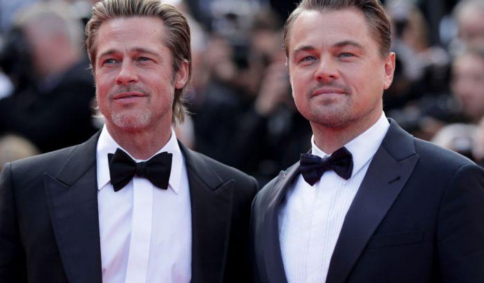Brad Pitt és Leonardo DiCaprio együtt: ki a jóképűbb?