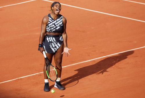 Serena Williams különleges Off-White öltözéket viselt a French Openen