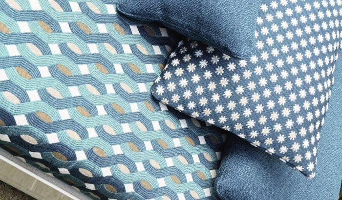 Impozáns kültéri textilek az ötvenes évek hangulatában