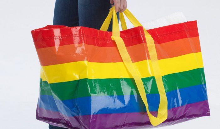 Szivárványos bevásárlótáskával ünnepli az IKEA a Pride-hónapot
