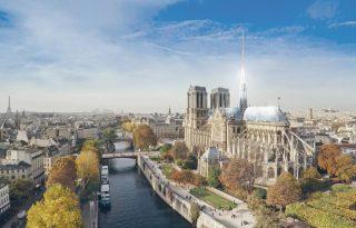 Építészek, akik alternatív módon renoválnák a Notre Dame-ot