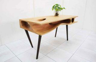 Ez a menő íróasztal egyben cicalabirintus is