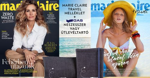 Megjelent a júniusi Marie Claire + Marie Claire Travel