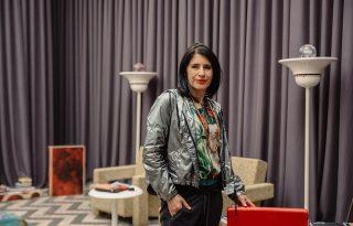 Vendégségben… Megyesi Zsuzsa, art directornál