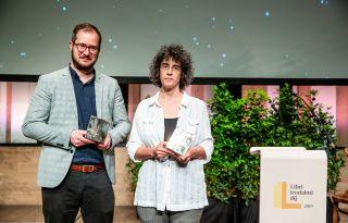 Arról, hogy mi jó: átadták a Libri irodalmi díjakat