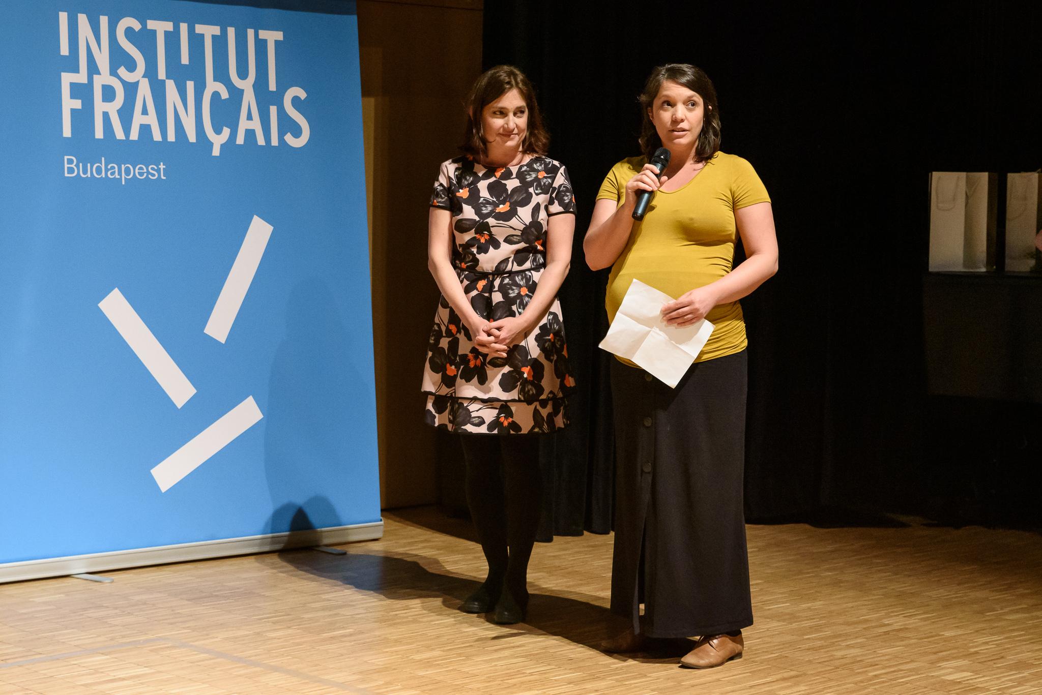 13. kép: Joó Katalin, a Lush Hungary vezetője és Kapronczay Stefánia, a TASZ ügyvezető igazgatója