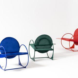 Geometrikus csodafotel madridi tervezőtől