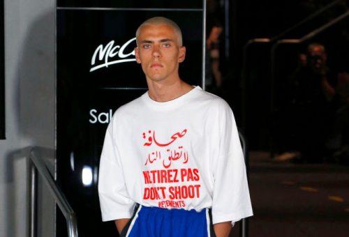 Megosztja a véleményeket a Vetements egyik legújabb pólója