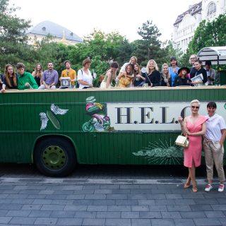 Kabrió buszos városnézés H.E.L.G.A-val a Belvárosban és a Balaton-felvidéken