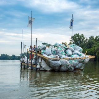 PET palack mentes lesz a Tisza-tó