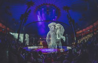 A cirkusz, ahol nincs állati szenvedés, csak hologram