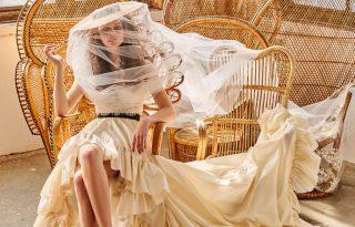 Lélegzetelállító csipkecsodák Sármán Nóra új menyasszonyi kollekciójában