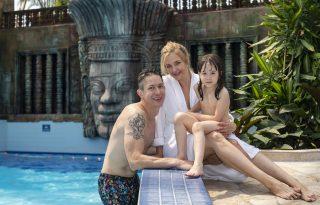 """Peller Anna és családja Pesten """"nyaralt"""""""