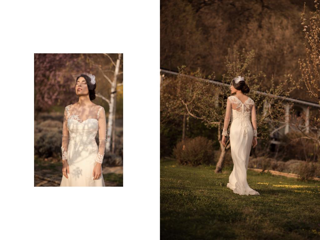 f43c32c466 VIKTORIAVARGA csodaszép esküvői kollekciót tervezett | Marie Claire