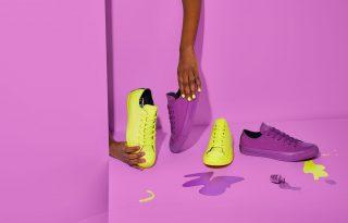 Neon színekben vibrál az új Converse x OPI kollekció