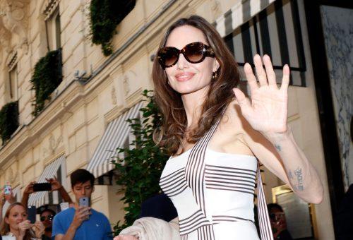 Angelina Jolie Párizsban ünnepelt