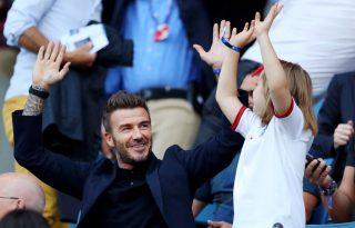 David Beckham a legcukibb módon köszönti lányát születésnapján