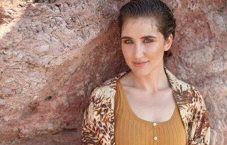 Így fotóztuk Lábas Vikit, a Margaret Island énekesnőjét!