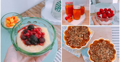 Nyári gyümölcsös finomságok