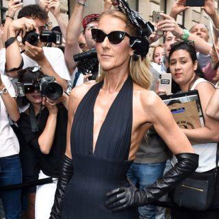Céline Dion elképesztően stílusos megjelenése