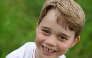 György herceg cuki foghíjas fotóval ünnepelte hatodik szülietésnapját