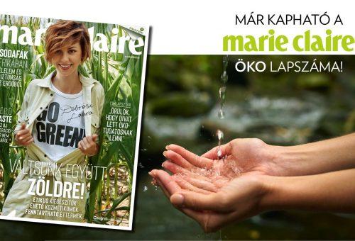 Megjelent a szeptemberi Marie Claire – újrapapíron