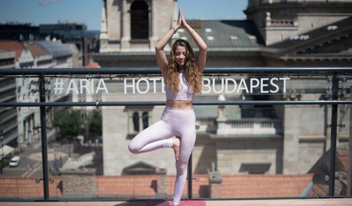 Élőzenés Harmony Rooftop jóga