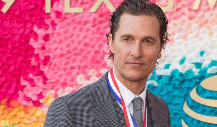 Matthew McConaughey professzor lett, és nem a filmvásznon