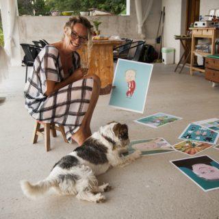 Feltörekvők: Silye Juli, illusztrátor, művészetterapeuta