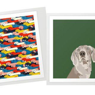 A legmenőbb art printek házi kedvenceinkről