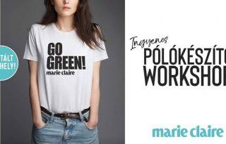 Készítsd el a saját GO GREEN pólódat!