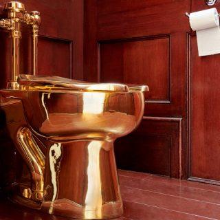 5 millió dolláros aranyvécét loptak el Churchill szülőpalotájából
