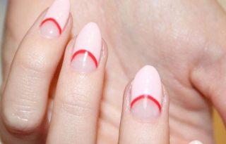 Félhold körmökkel indul Kendall Jenner a kínos lenövések ellen