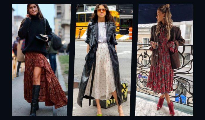 Tökéletes mix: nyári ruha őszi kabátokkal