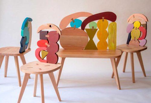 Ezekre a szoborszerű székekre vétek lenne leülni