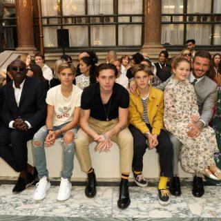 Victoria bemutatója családi ügy Beckhaméknél