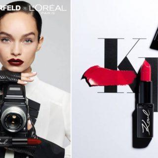 Itt az első mood videó az új L'Oréal Paris-Karl Lagerfeld kollekcióról!