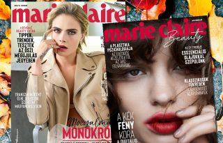 Megjelent az októberi Marie Claire