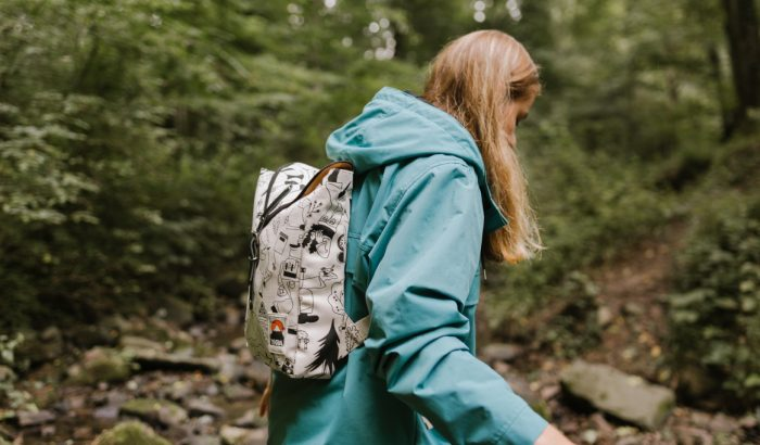 Az YKRA a '80-as évek túraélményeiből csinált táskákat