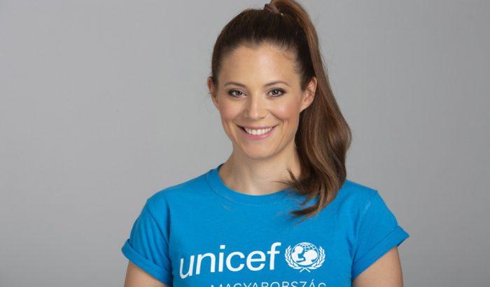 Szinetár Dóra lett az UNICEF Magyarország új jószolgálati nagykövete