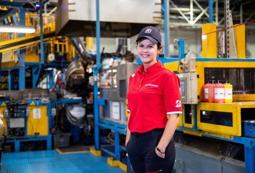 A munkám a szenvedélyem: Topolcsik Melinda, a Bridgestone Tatabánya Termelő Kft. ügyvezető igazgatója